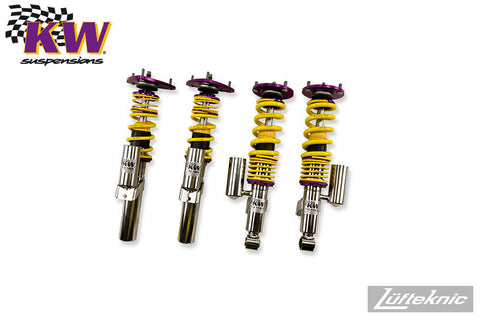 KW Clubsport 2-way suspension w/ top mounts - Porsche 911 C2 type 997, 2006-2012