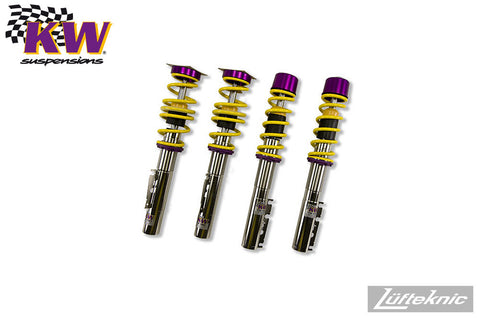 KW Variant 2 coilover suspension - Porsche Boxster / Boxster S type 986, 1996-2004