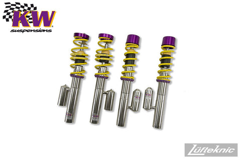 KW Variant 3 coilover suspension - Porsche Boxster type 986, 1996-2004