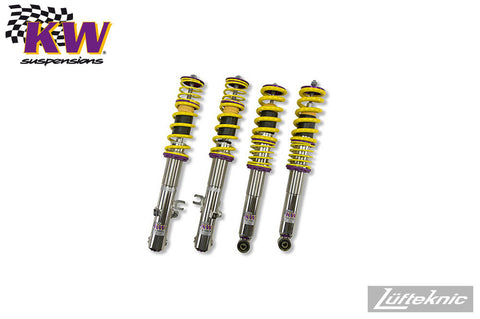 KW Clubsport coilover suspension - Porsche 911 C2 type 993, 1995-1998