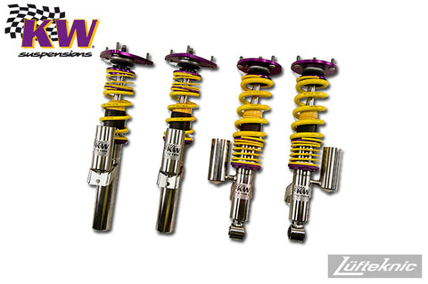KW Clubsport coilover suspension w/ top mounts - Porsche 911 C2 type 996, 1999-2005
