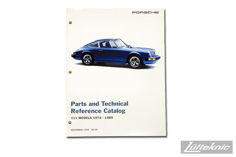 911 Parts and Tech Catalog - NOS Porsche