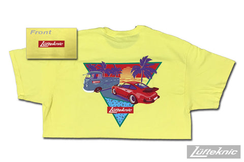 Lufteknic limited edition shirt #08 - 80s Beach T