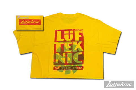 Lüfteknic limited edition shirt #03 - Air cooled heritage