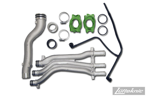 Coolant pipe update kit - Porsche Cayenne S, Turbo 4.5 V8
