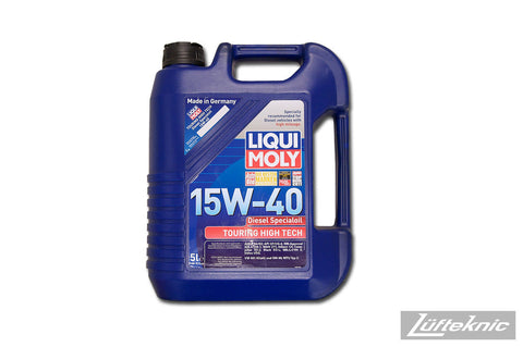 Engine oil - Liqui Moly 15w40 Touring High Tech 5 liter