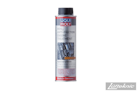 Engine oil additive - Liqui Moly MoS2 anti-friction treatment 500mL