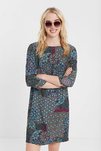 Load image into Gallery viewer, Desigual Long sleeved mandala dress