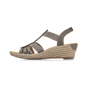 Rieker 62436 Wedge Heel Sandals