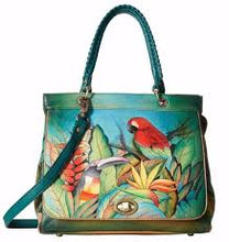 Load image into Gallery viewer, Anuschka Large Convertible Satchel- 563 Tropical Bliss