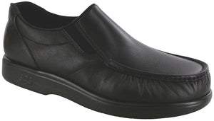 SAS Side Gore Slip On Loafer Smooth Leather