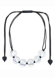 Zsiska Precious Multi Round Bead Necklace