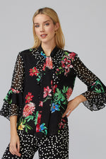 Load image into Gallery viewer, Joseph Ribkoff Floral Blouse