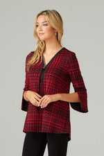 Load image into Gallery viewer, Joseph Ribkoff Houndstooth Tunic