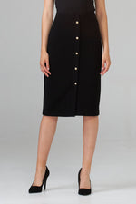 Load image into Gallery viewer, Joseph Ribkoff Button Front Skirt