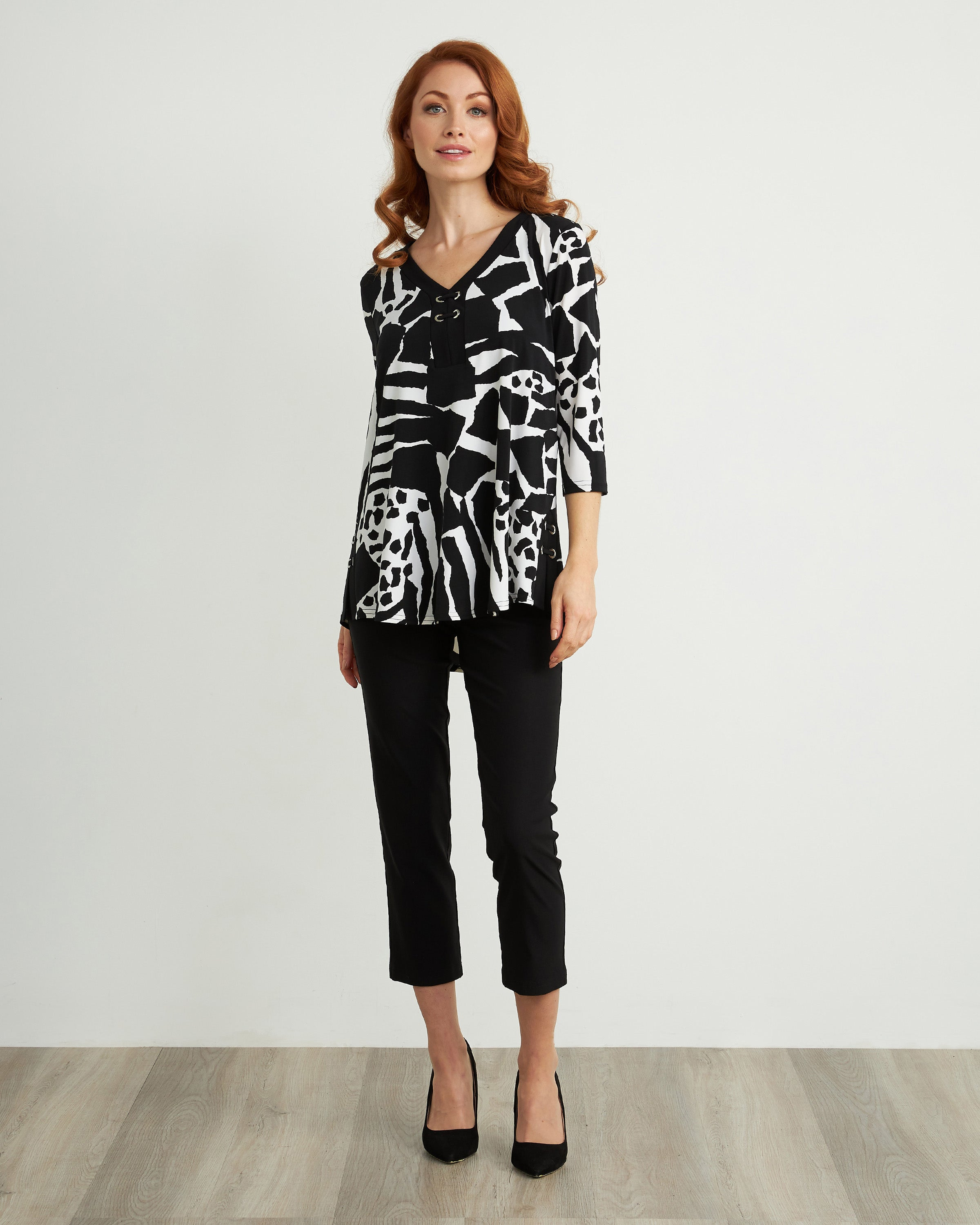 Joseph Ribkoff Animal Print Tunic