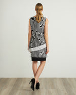 Load image into Gallery viewer, Joseph Ribkoff Abstract Print Sleeveless Top