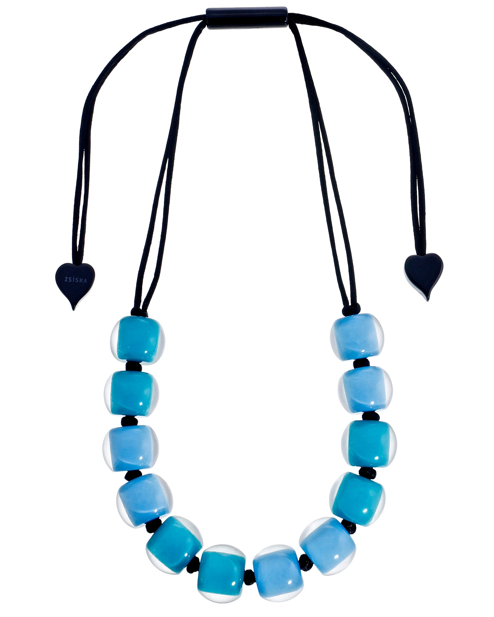Zsiska 12 Round Beads Adjustable Necklace