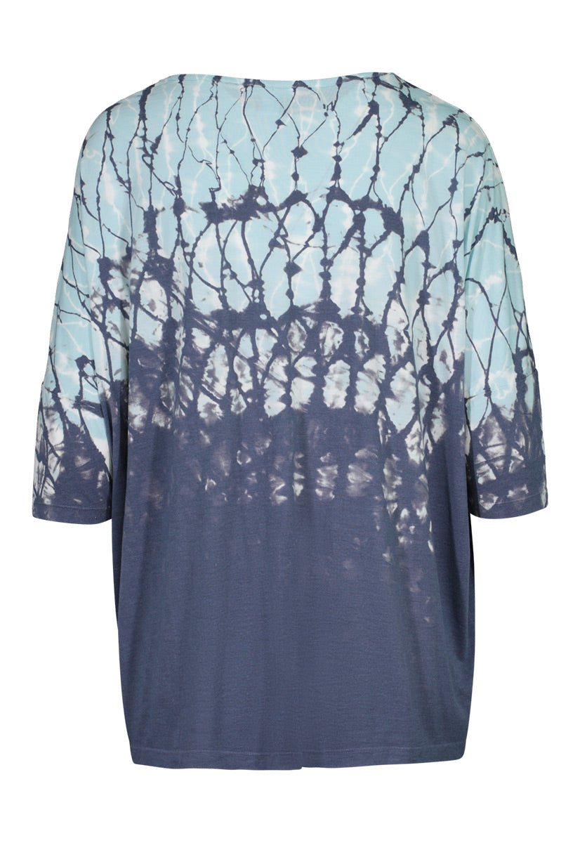 Tribal Oversized Printed Top
