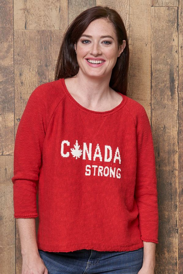 Cotton Country Canada Strong Pullover