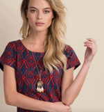 Load image into Gallery viewer, Hatley Nellie Dress - Block Medallion