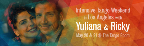 1 Workshop for Yuli & Ricky's Intensive Tango Weekend
