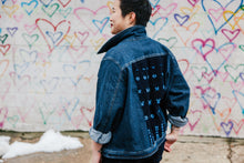 Load image into Gallery viewer, The Custom Upcycled Denim Jacket