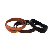 Load image into Gallery viewer, Double Wrap Leather Bracelet