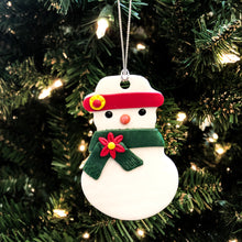 Load image into Gallery viewer, Iman's Snowman Ornaments