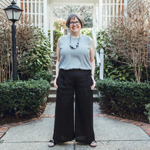 Load image into Gallery viewer, Permanent Collection: The Linen Pant, Black