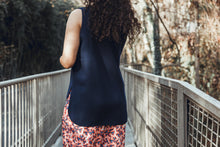Load image into Gallery viewer, Permanent Collection: The Silky Tank, Navy