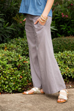 Load image into Gallery viewer, Permanent Collection: The Linen Pant, Gray