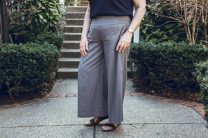Permanent Collection: The Linen Pant, Gray