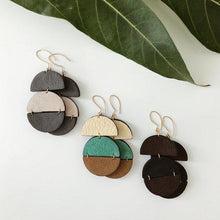 Load image into Gallery viewer, Gia Leather Earrings