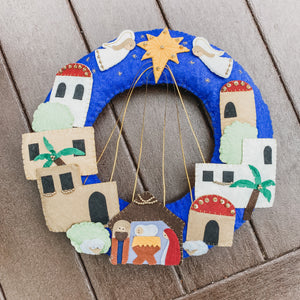 Nativity Wreath from Kyrgyzstan