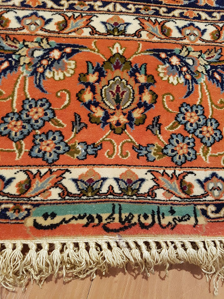 Persian rug -World class silk base Isfahan 160×230 cm