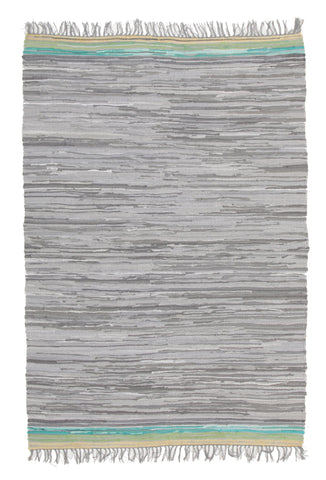 Boho Whimsical Rug Grey