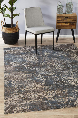 City Mix Modern Grey Rug