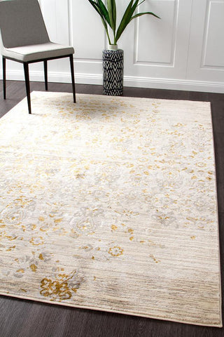Drift Persepolis Stunning Rug Beige Antique Gold