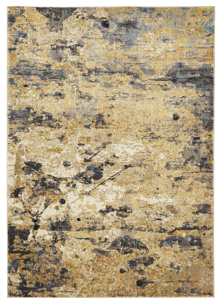 Tribute Modern Rust Rug