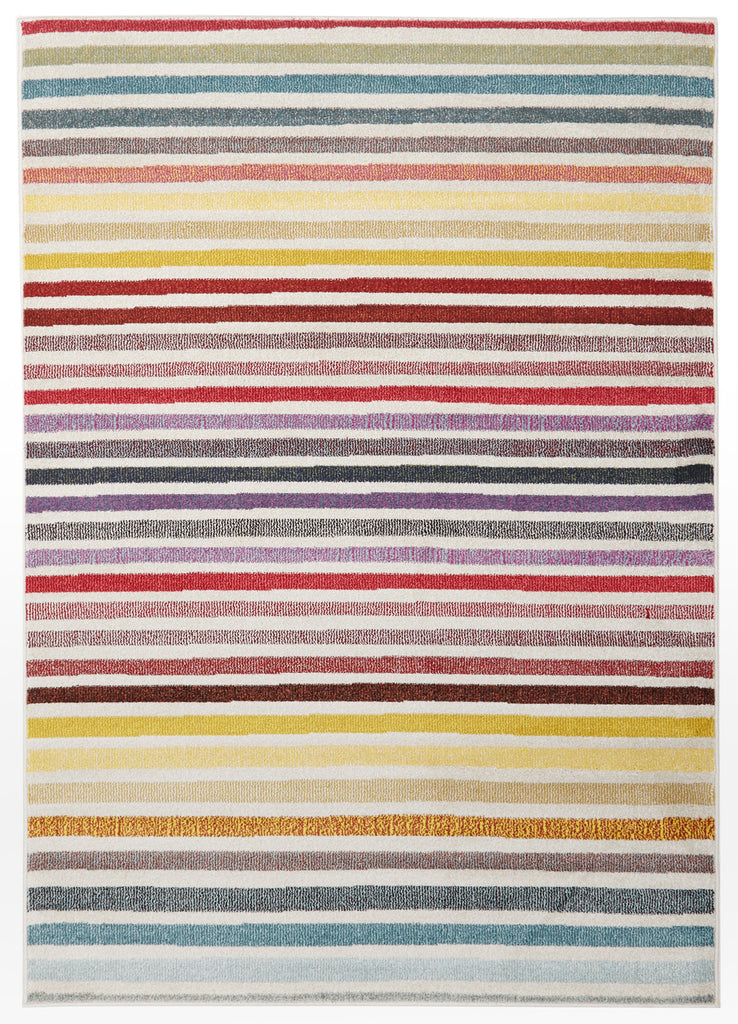 Rufus Modern Multi Coloured Rug