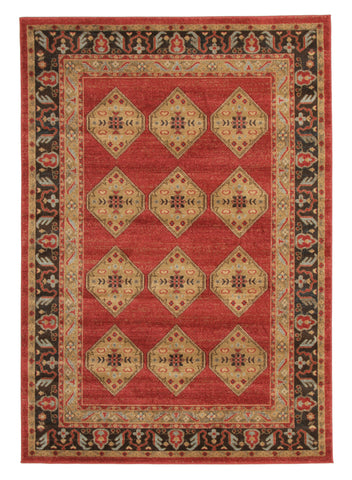 Shiraz Design Rug Red