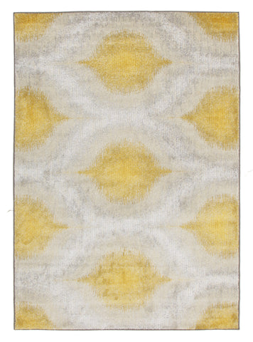 Lucid Dream Modern Rug Yellow