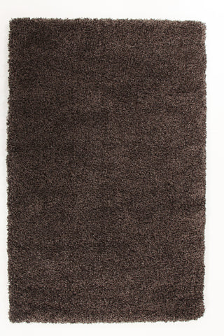 Ultra Thick Super Soft Shag Rug Brown Grey
