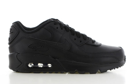 NIKE AIR MAX '90 LEATHER ZWART HEREN