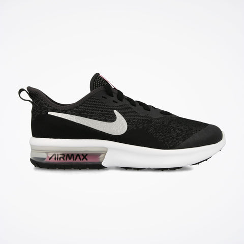 NIKE AIR MAX SEQUENT 4 (GS) ZWART