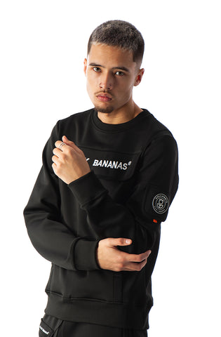 PROTECT CREWNECK BLACK