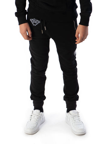 BLACK BANANAS FLEECE JOGGER BLACK JUNIOR