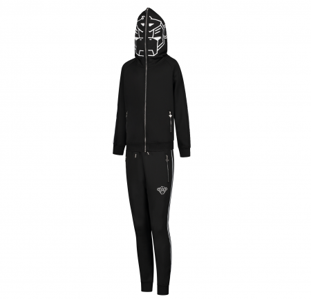 JR INCOGNITO TRACKSUIT BLACK