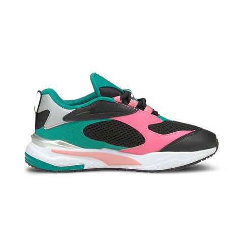 PUMA RS-FAST BLACK/PINK KIDS